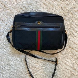 Vintage Gucci Camera Bag
